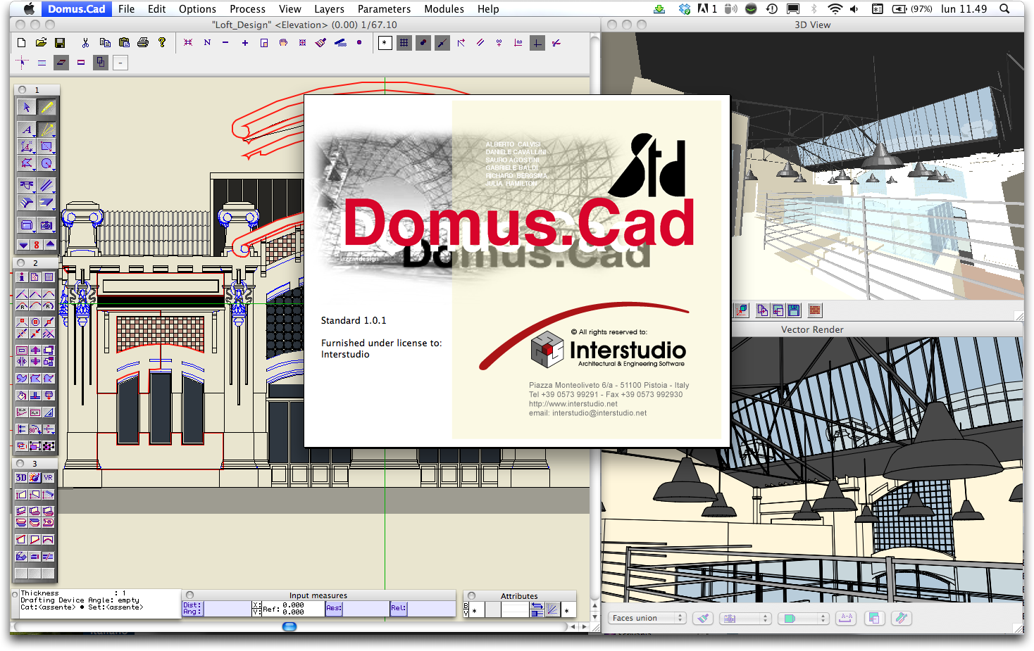 Interstudio news architectural engeneering software for Architectural drafting programs free